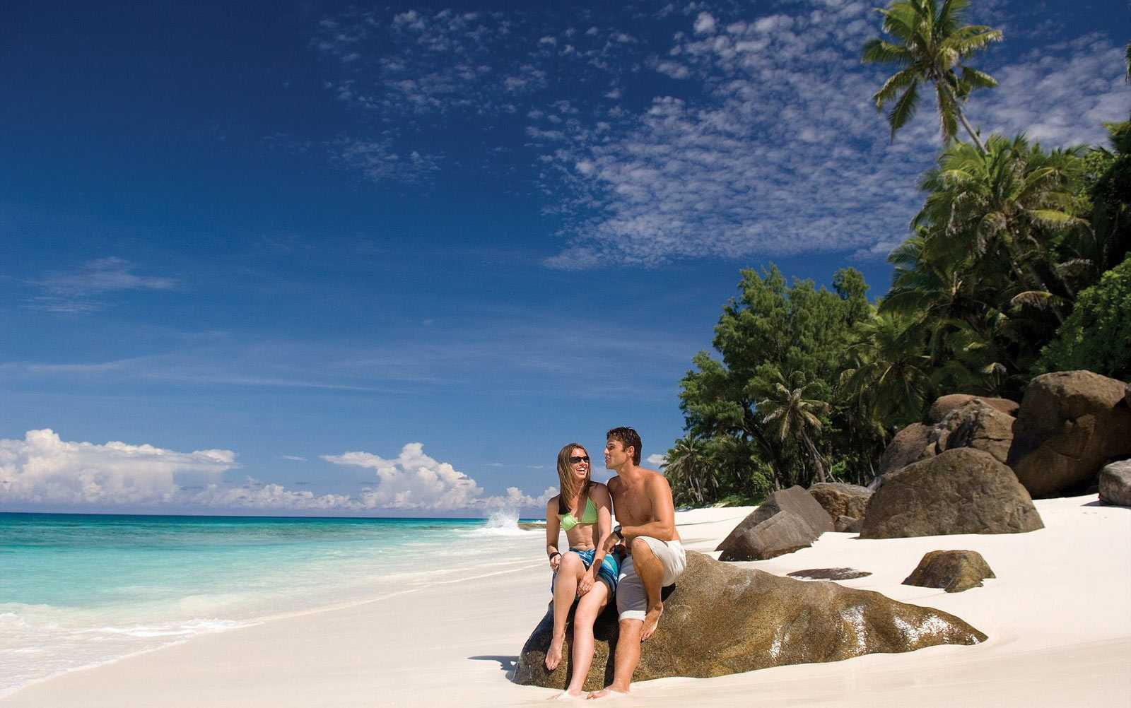 Seychelles is where British royalty honeymooned and is now a popular honeymoon or couple destination.